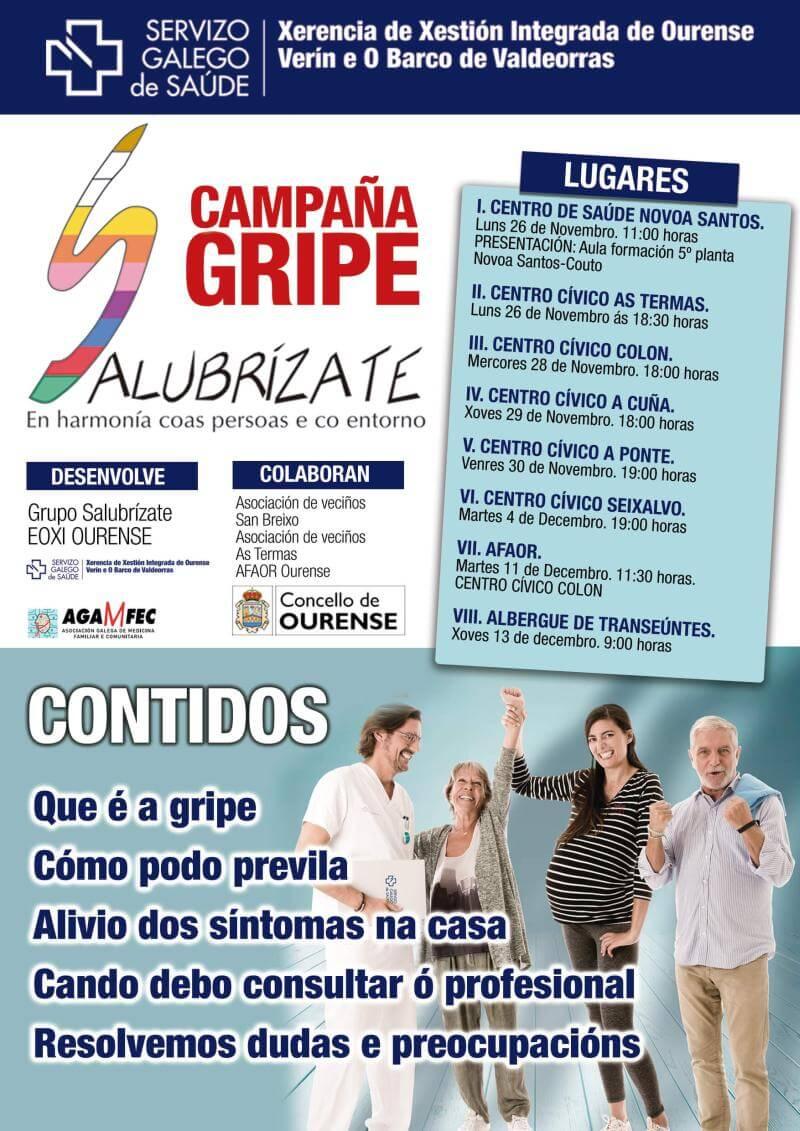 campaña de Salubrízate-Gripe