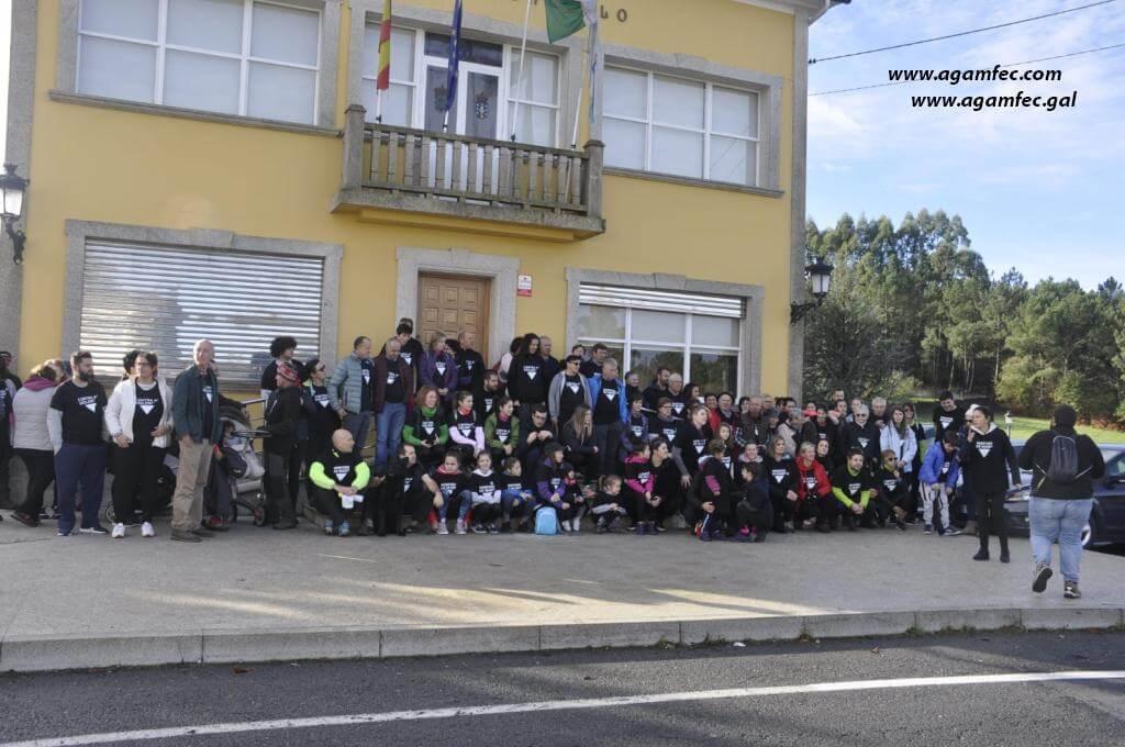 El CENTRO DE SALUD DE MONFERO SE SUMO CON UNA CAMINATA AL DÍA CONTRA LA VIOLENCIA DE GÉNERO