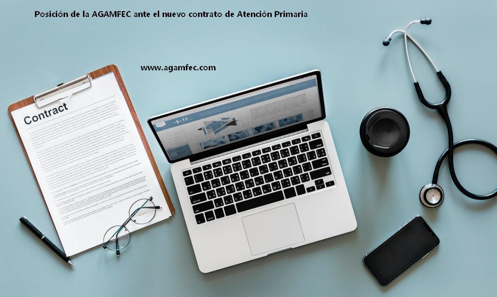 Posición de la AGAMFEC ante el nuevo contrato de Atención Primaria