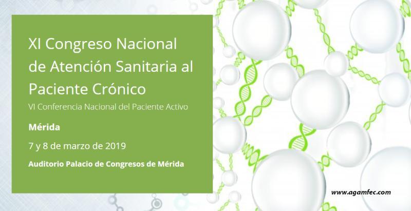 XI Congreso Nacional de Atención Sanitaria al Paciente Crónico / VI Conferencia Nacional del Paciente Activo