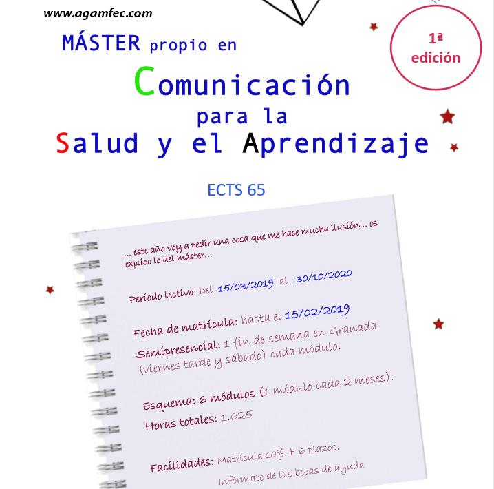 Máster propio en Comunicación para la salud y el aprendizaje (1ª Edición)