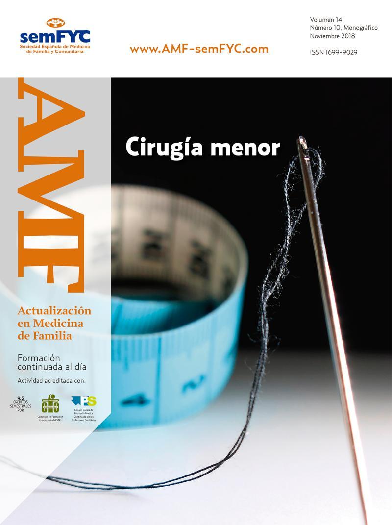 AMF Volumen 14, nº 10 (Noviembre 2018)