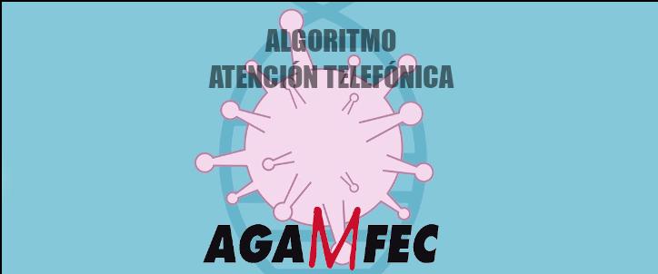ALGORITMO ATENCION TELEFONICA COVID19 AGAMFEC