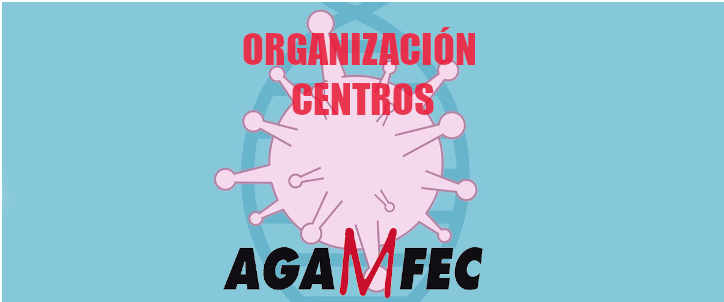 ORGANIZACION CENTROS COVID19 AGAMFEC
