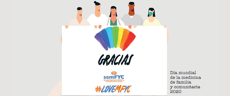 Dia Mundial MFYC GRACIAS semfyc