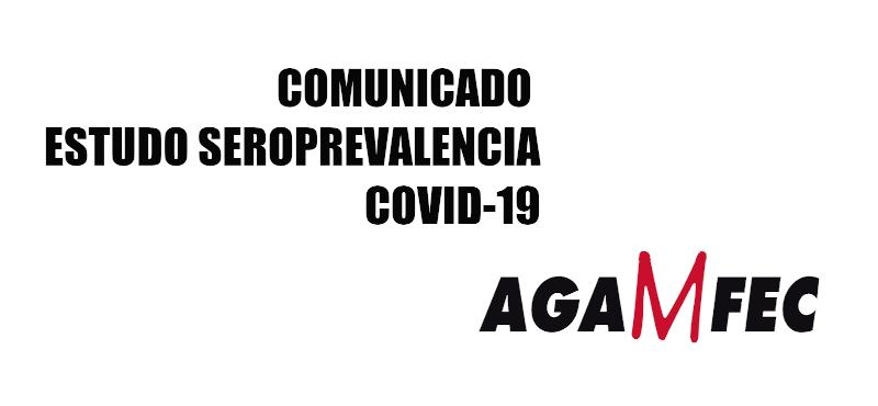 Comunicado seroprevalencia COVID-19 Agamfec