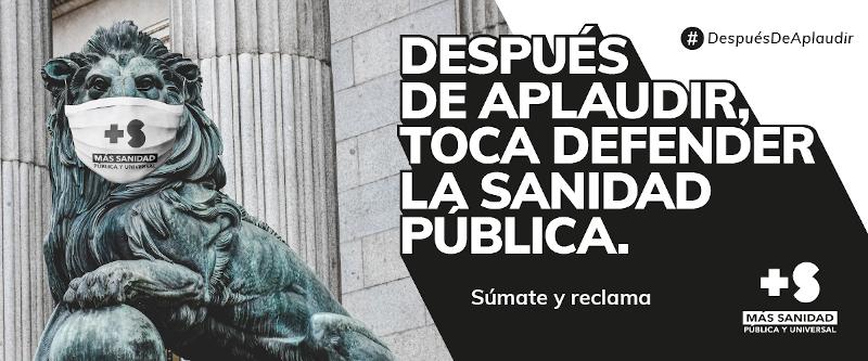 banner campaña más sanidad covid19