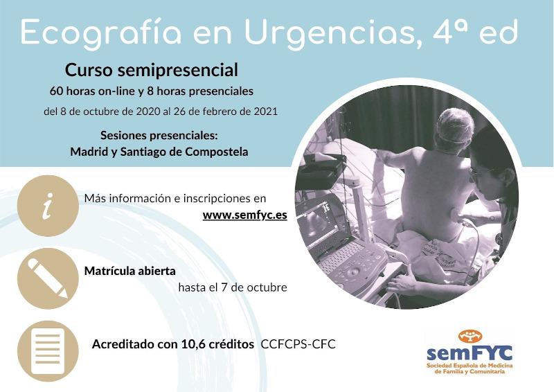 Ecografía en Urxencias semFYC. 4ª Edición